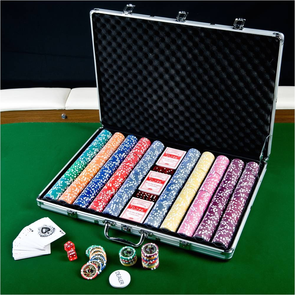 texas bullets 13 5g 1000 clay poker chips set p30