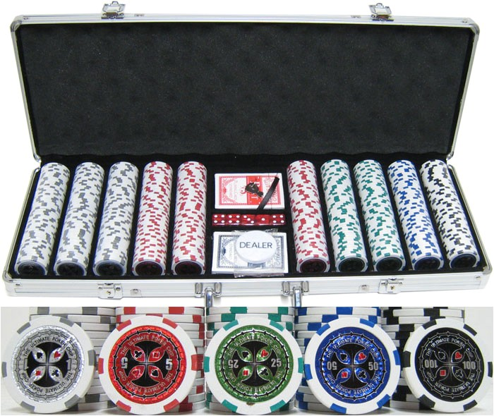 clay poker chip sets for sale