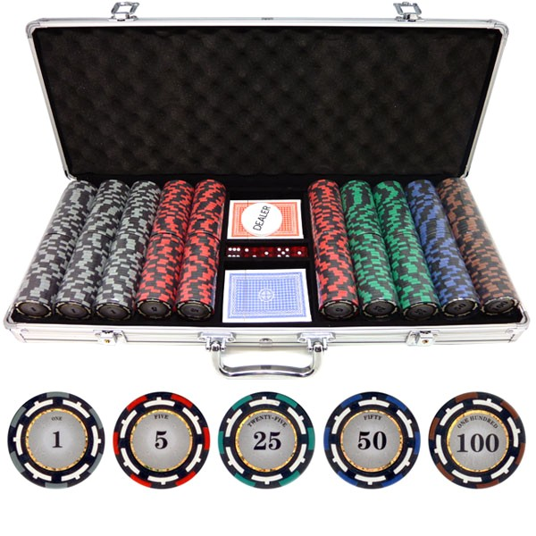 500 pro 135g clay poker chips p 447