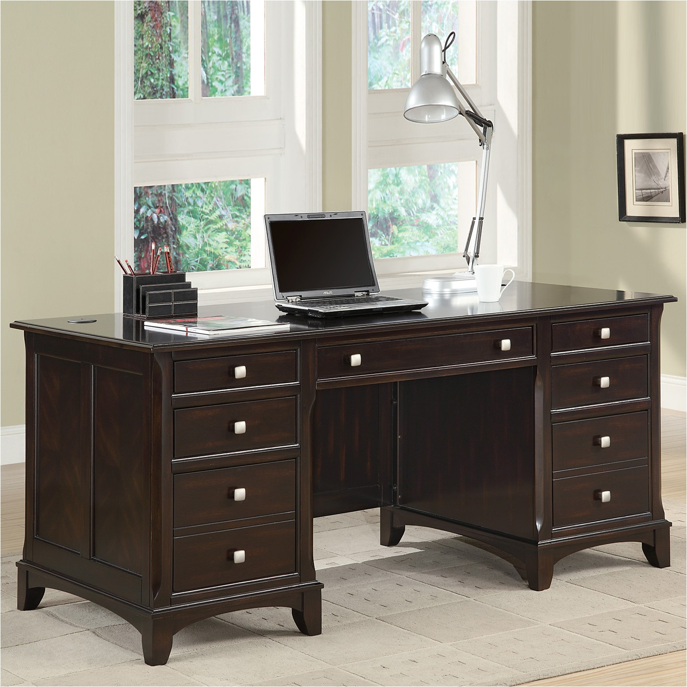 coaster fine furniture garson desk g1258857