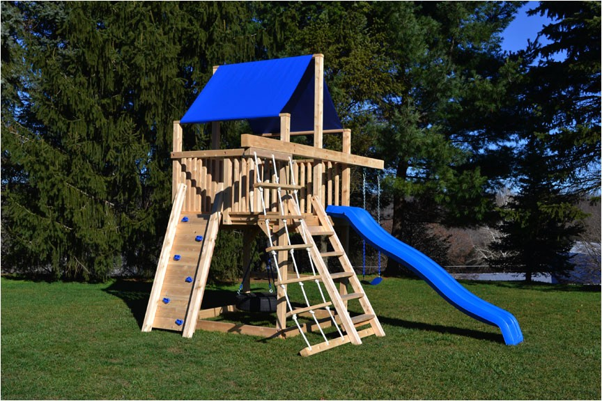 Compact Swing Sets Small Yards Adinaporter
