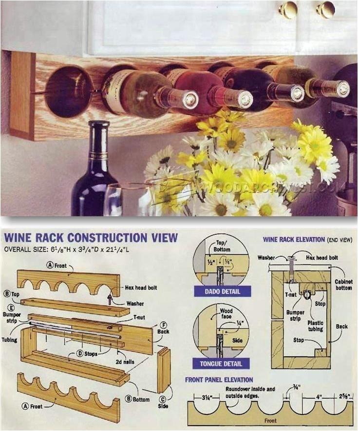 kitchen wine racks
