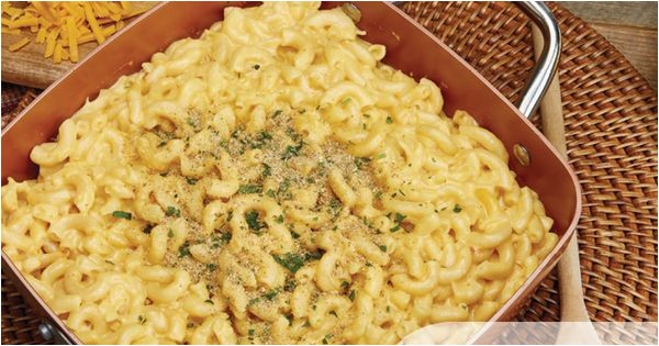 Copper Chef Mac and Cheese Mac and Cheese In One Pot Easy with Your Copper Chef
