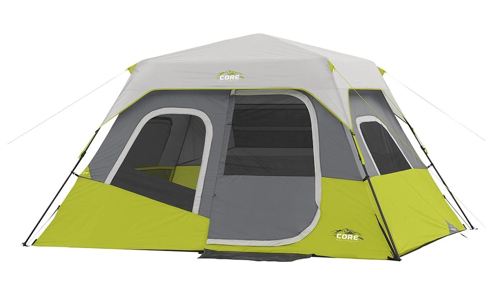 Core Tent Vs Coleman Core 6 Person Cabin Tent Review with Instant Collapsible