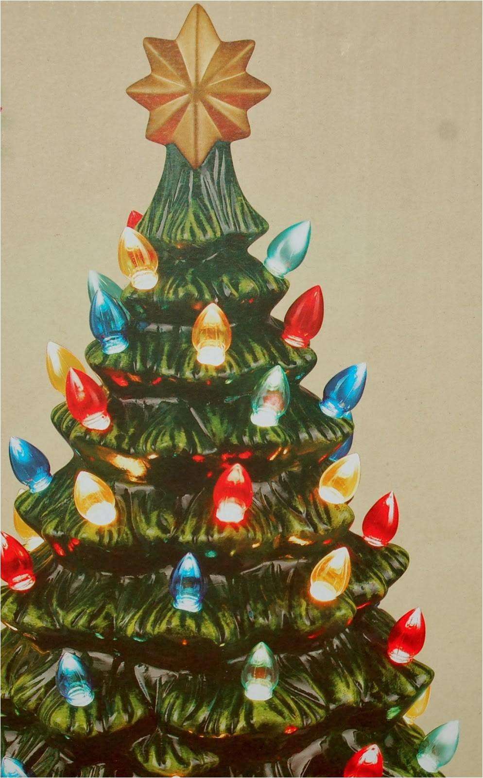 Cracker Barrel Ceramic Christmas Tree Nanaland October 2013