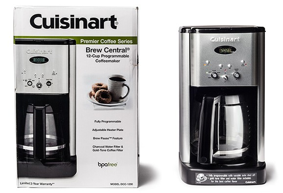 clean cuisinart coffee maker