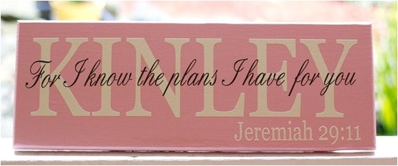 scripture signs personalized custom wood