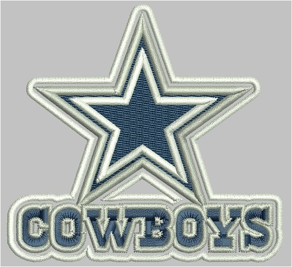 Dallas Cowboys Embroidery Design Cowboy Dallas Embroidery Designs 3 5 Inch 7 by