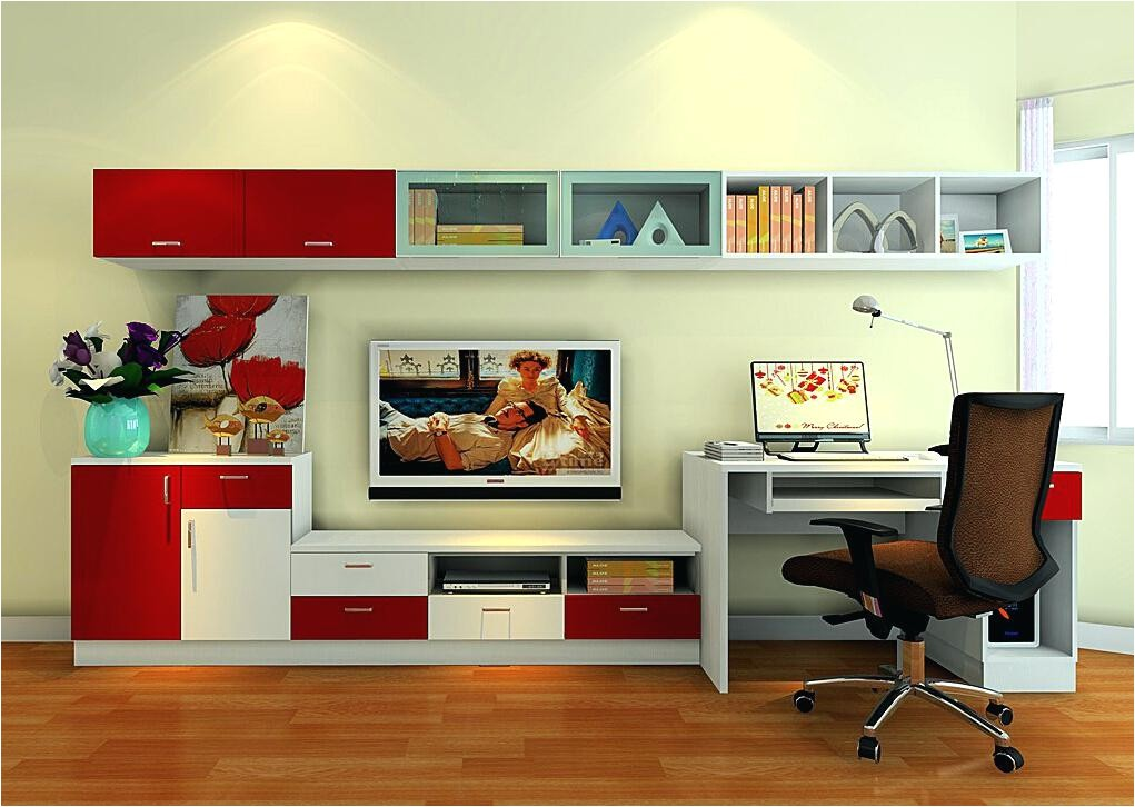 computer desk tv stand combo