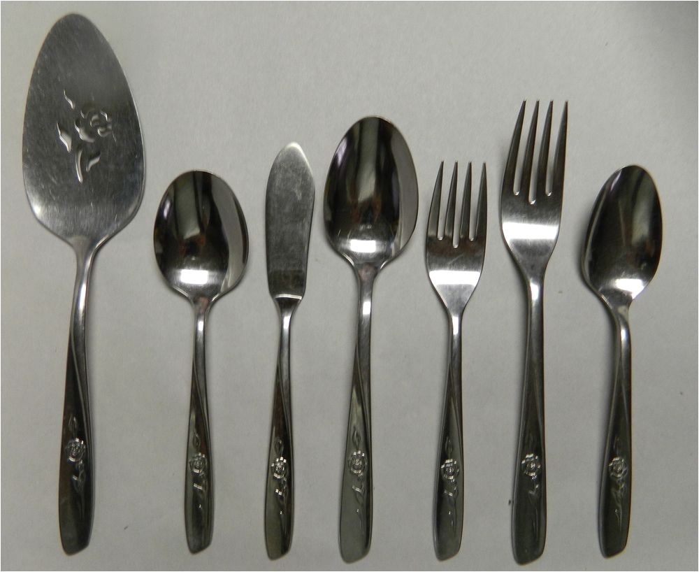 Discontinued Oneida Stainless Steel Flatware Patterns Oneida Wm A Rogers Sweet Briar Stainless Steel Flatware