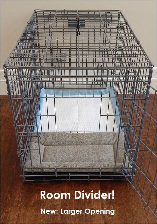 diy dog crate divider