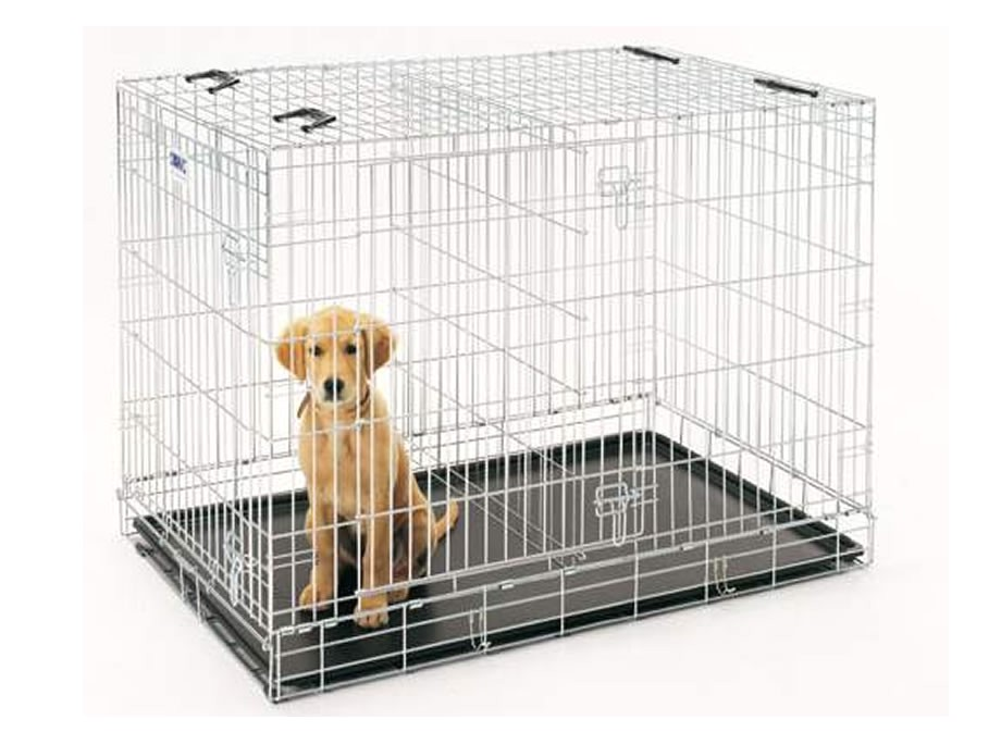 make dog crate divider