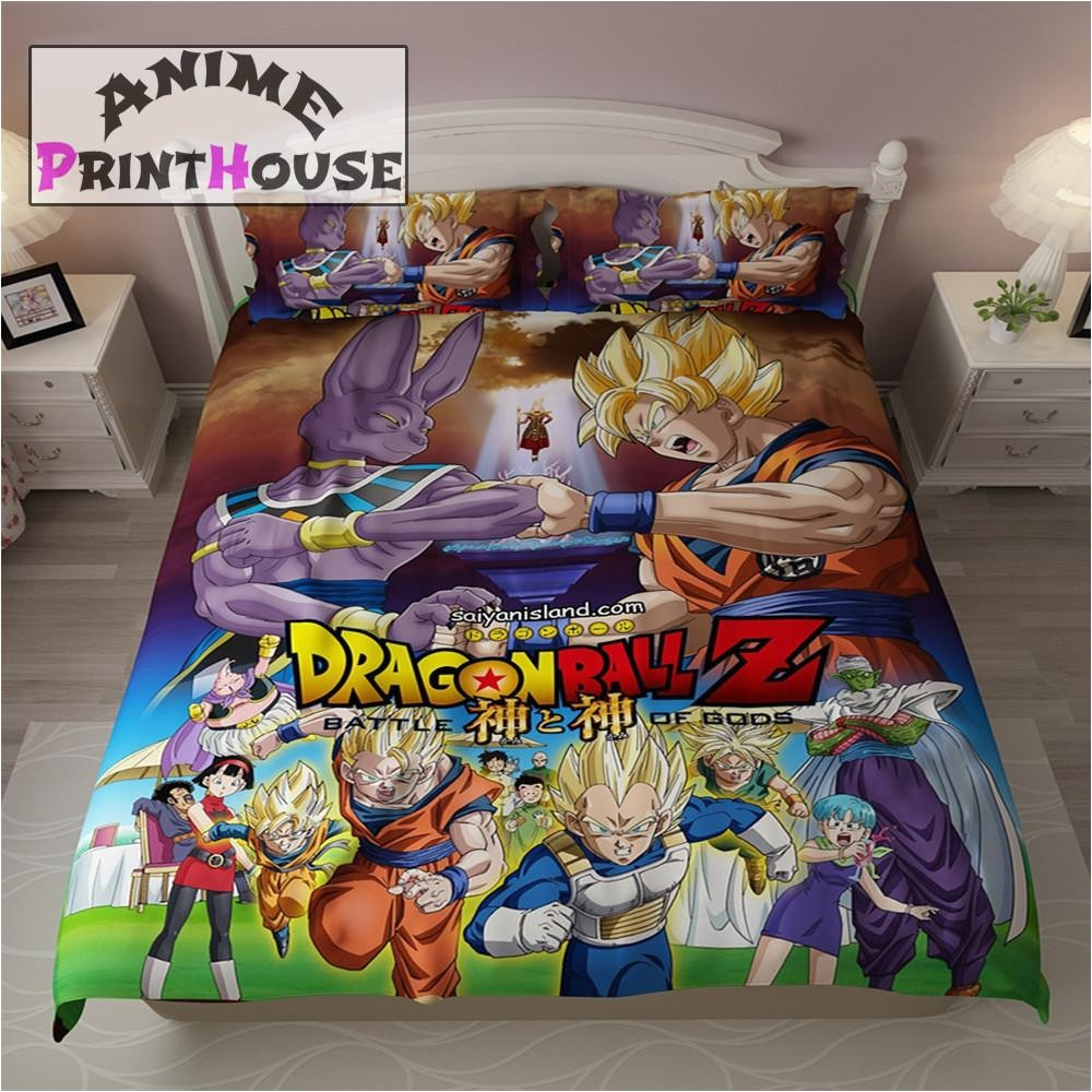 dragon ball z blanket bed sheets covers variant 45618081543