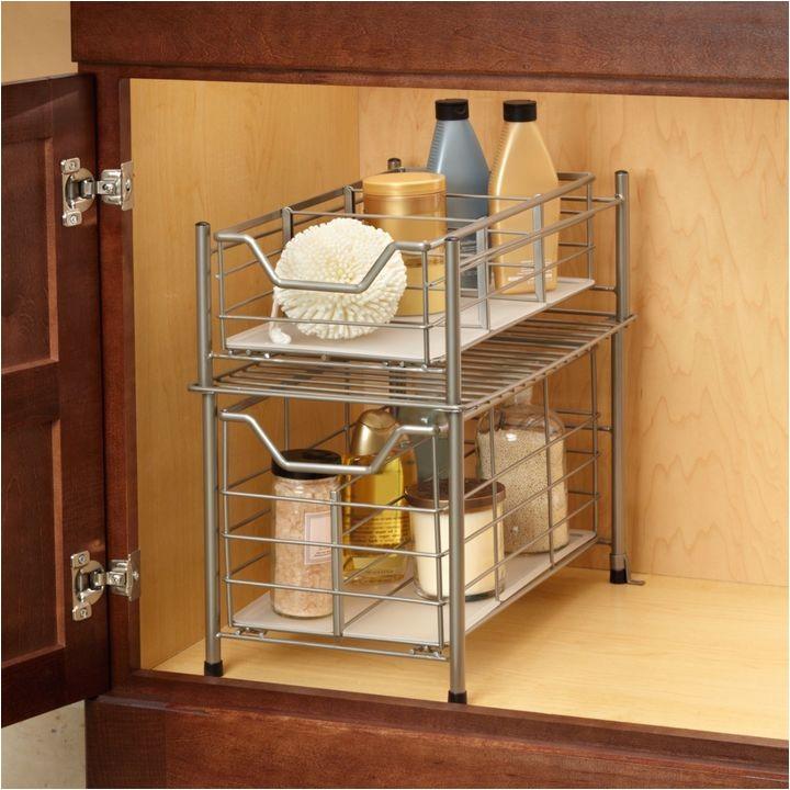 deluxe bathroom cabinet drawer