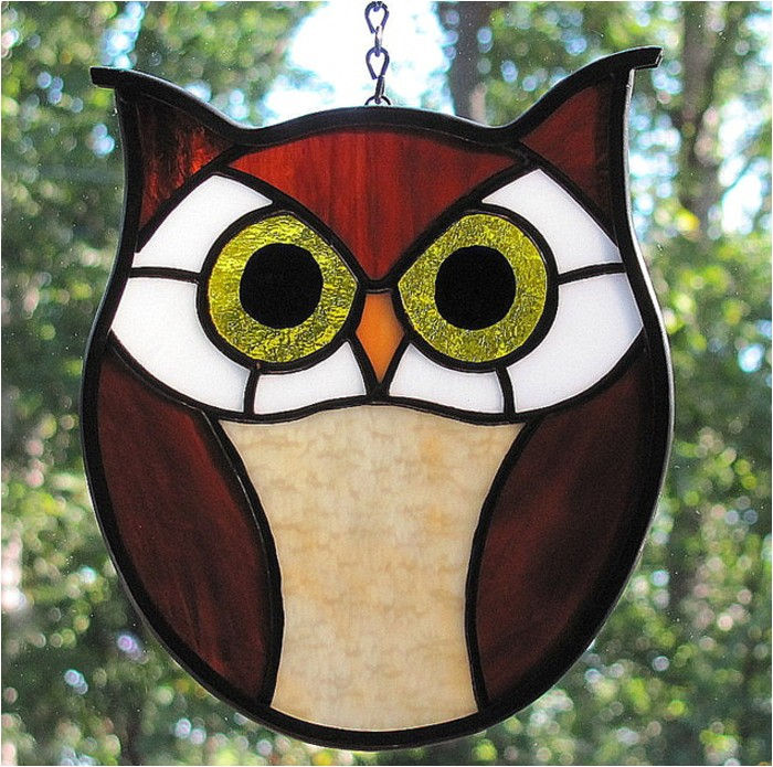 easy stained glass patterns for beginners
