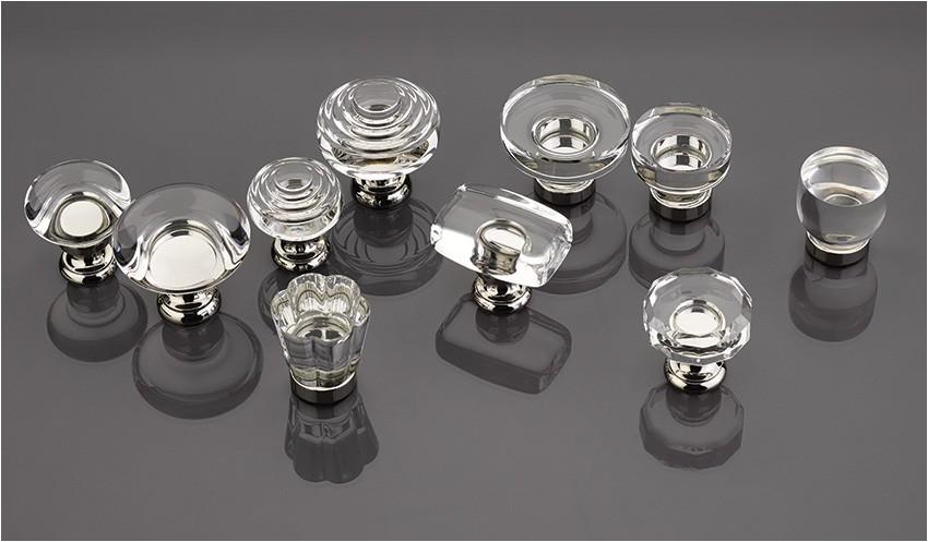 new crystal cabinet knobs by emtek