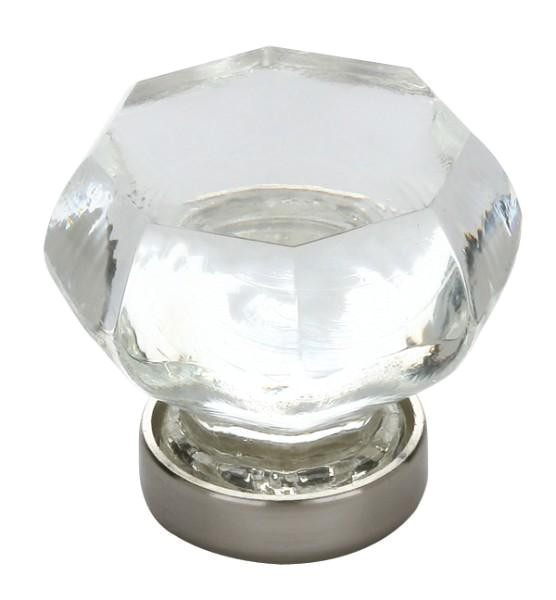 emtek old town clear crystal cabinet knobs