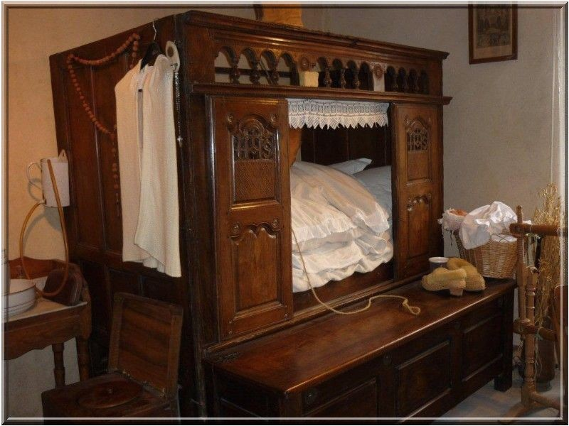1547 un lit clos breton