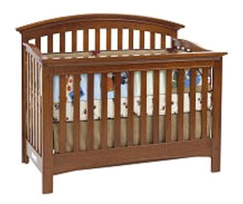 baby cache essentials curved lifetime crib