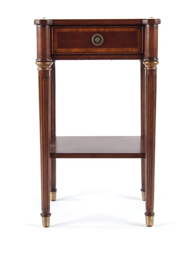 29027677 ethan allen federal style bedside table