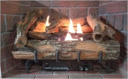 low country timber vent free gas log set