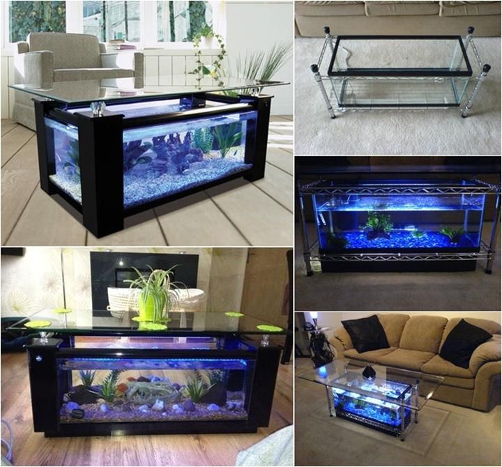 wonderful diy amazing fish tank coffee table with 7 steps