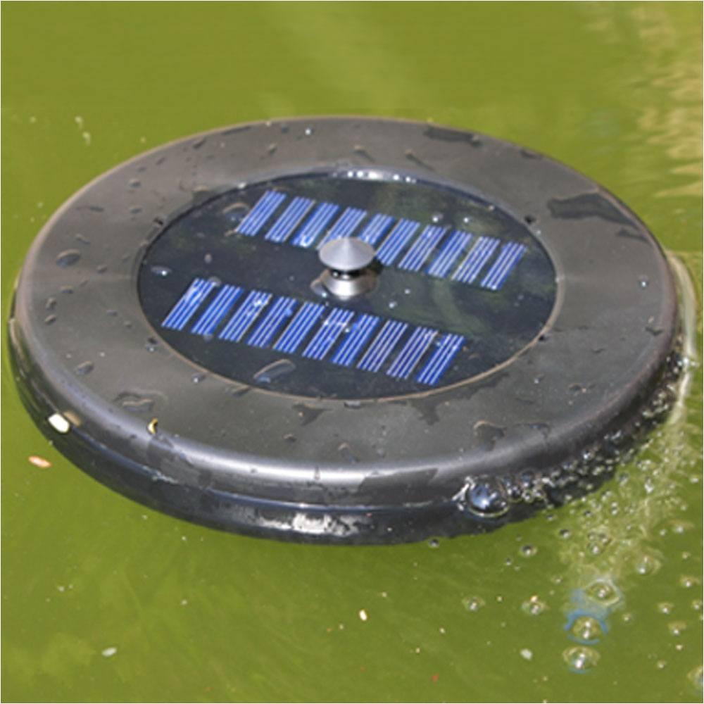 floating solar pond aerator