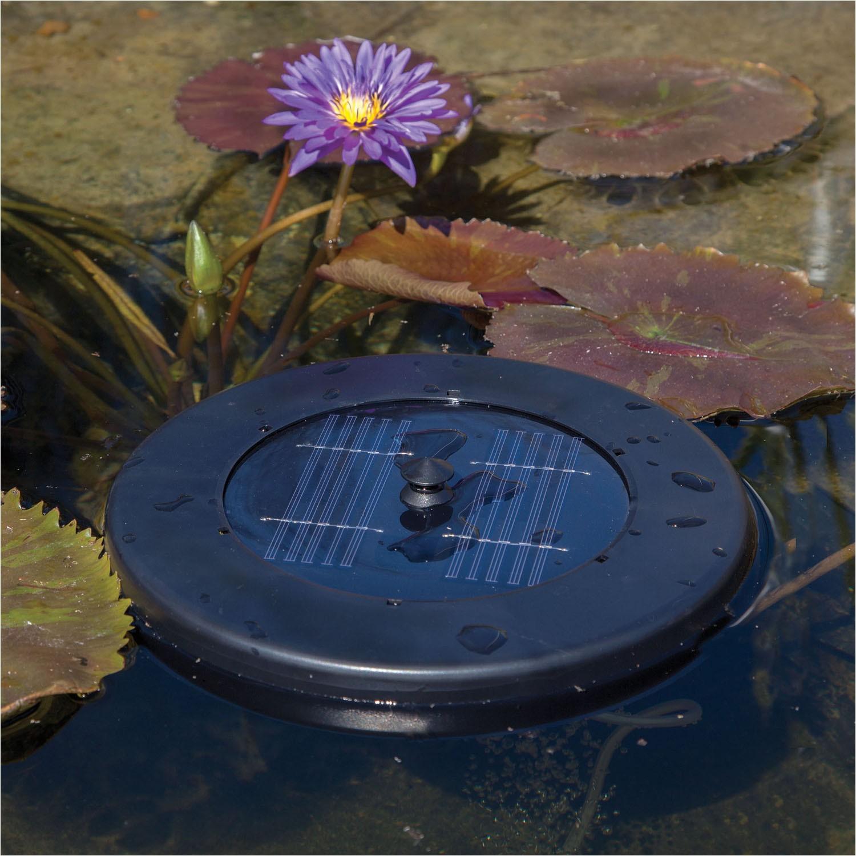 solar floating pond aerator