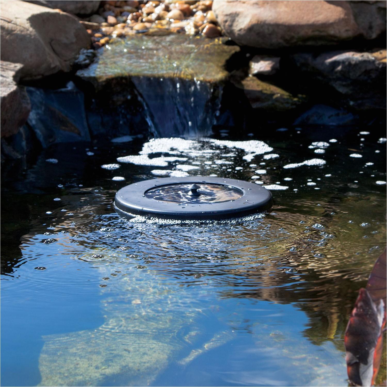 Floating solar Powered Pond Aerator Pond Boss solar Floating Pond Aerator