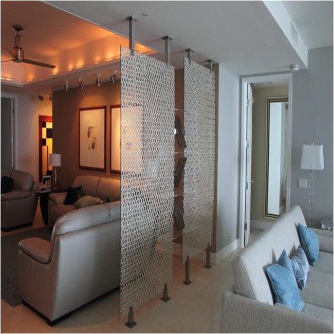 floor to ceiling room divider tension rods