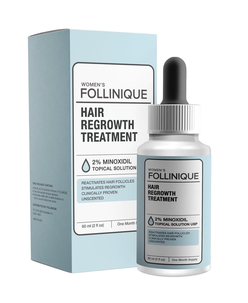 Follinique Hair Growth Treatment Amazon Com Follinique Incredible Hair Regrowth Treatment Fda