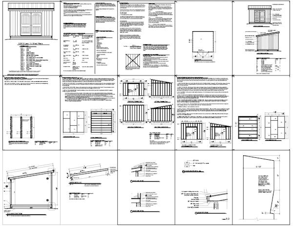 shed plans 12x12 free pdf randkey