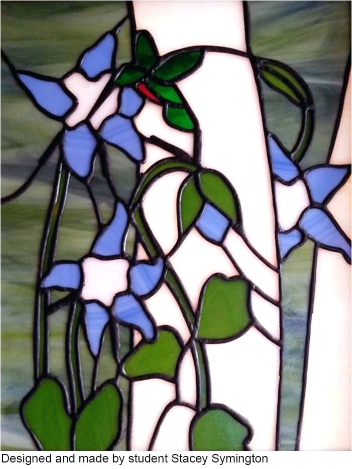 free stained glass patterns 20 pieces or less