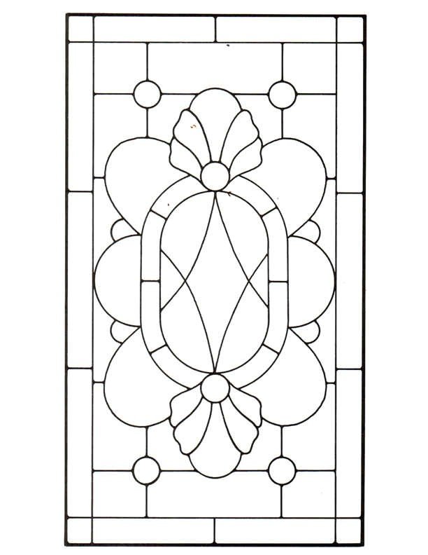 45 stained glass patterns
