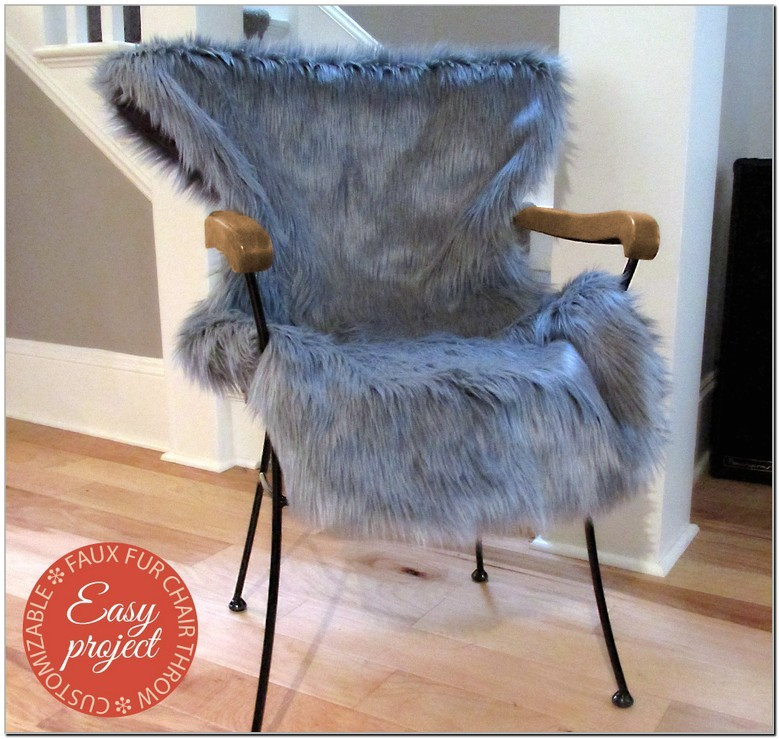 furry desk chair cover