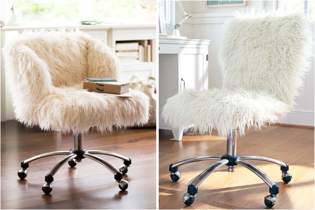 Furry Desk Chair Target 20 Delightful Desk Chairs Brit Co