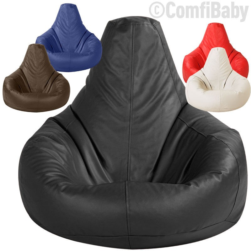 Gaming Bean Bag Chairs for Adults Beanbag Gamer Chair Adult Gaming Bean Bag Faux Leather