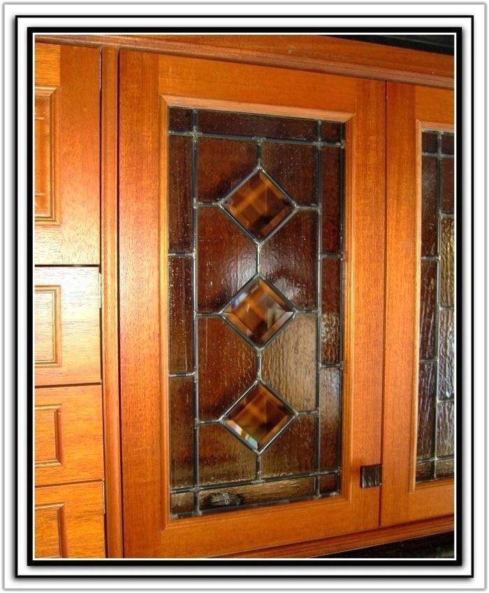 glass kitchen cabinet door inserts