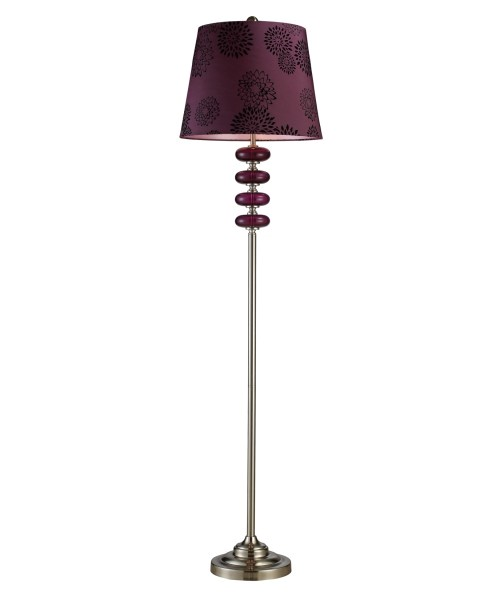 home depot floor lamp with beautiful flower floor lamps glass shade for romantic bedroom theme design