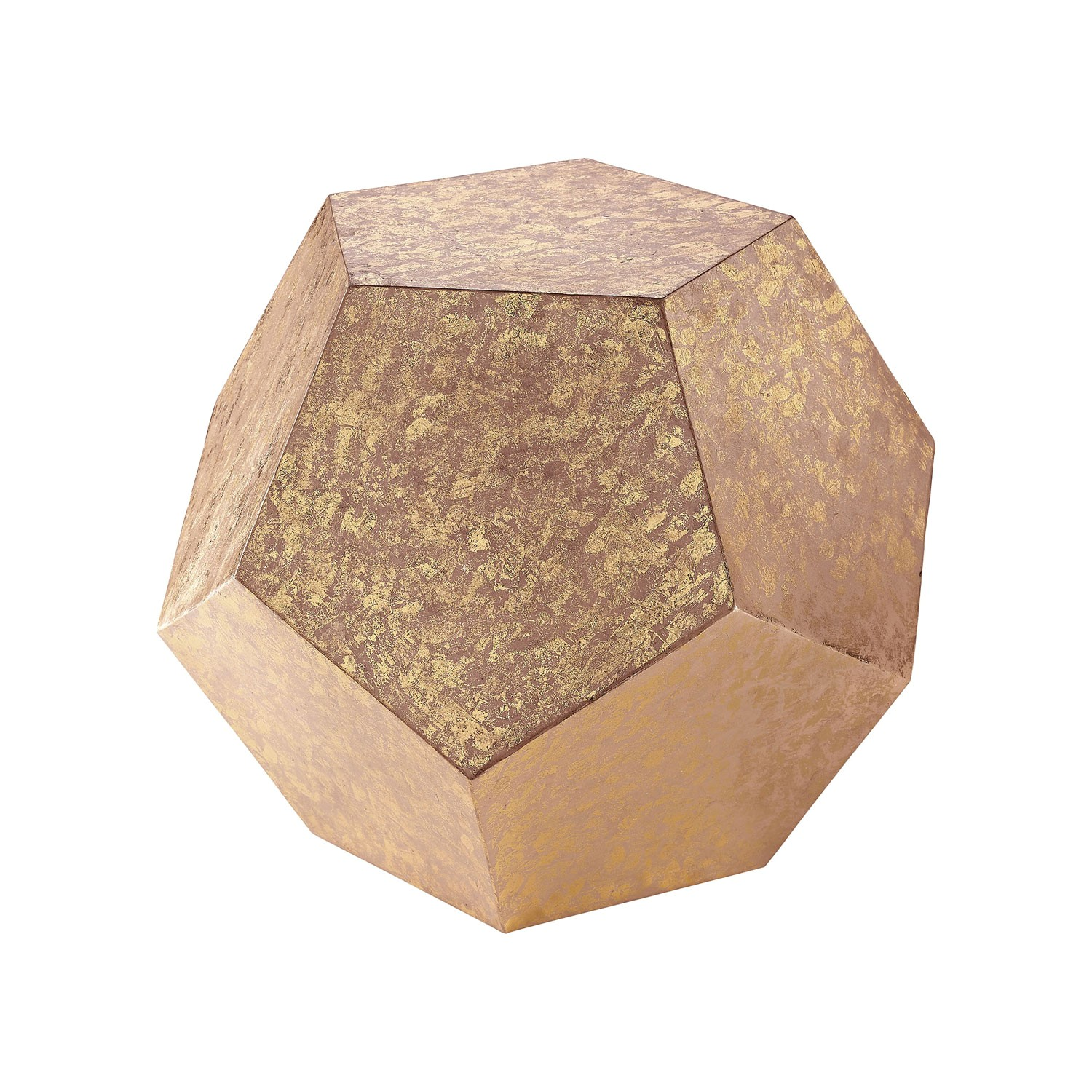 sterling industries 351 10213 gold dodecahedron cube 1736707