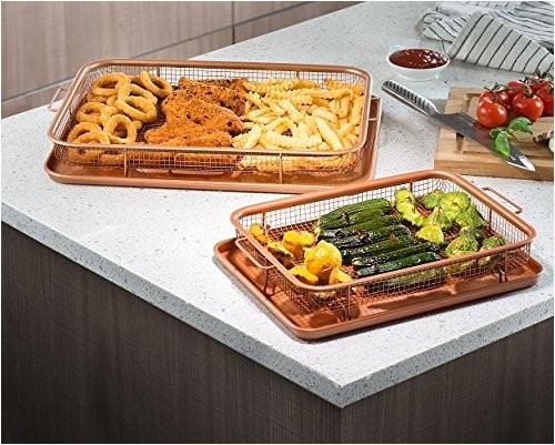 gotham steel crispy tray copper