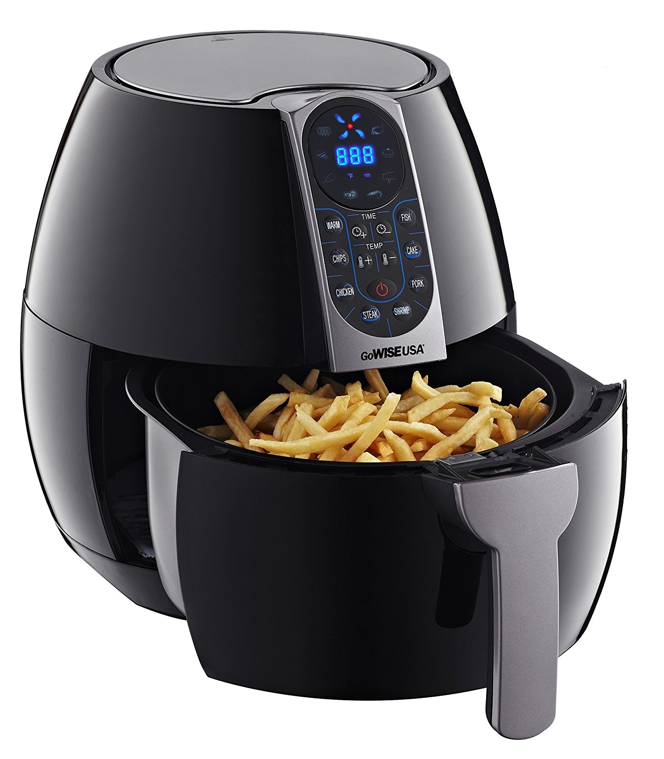 gowise usa gw22638 8in1 2 0 electric air fryer