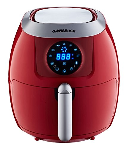gowise usa 5 8 quart programmable 7 in 1 air fryer gw22645