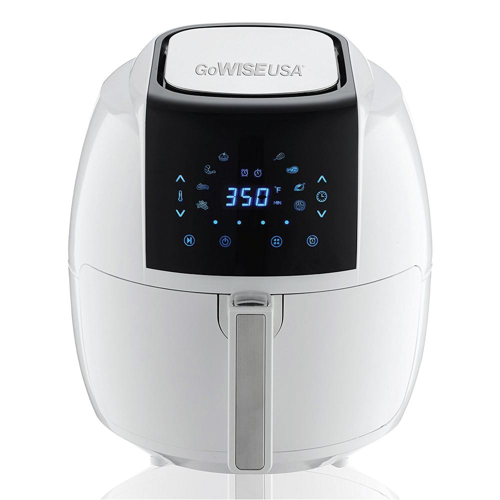 Gowise Usa Air Fryer 5.8 Qt Review Gowise Usa 5 8 Qt 8 In 1 touch Screen White Air Fryer