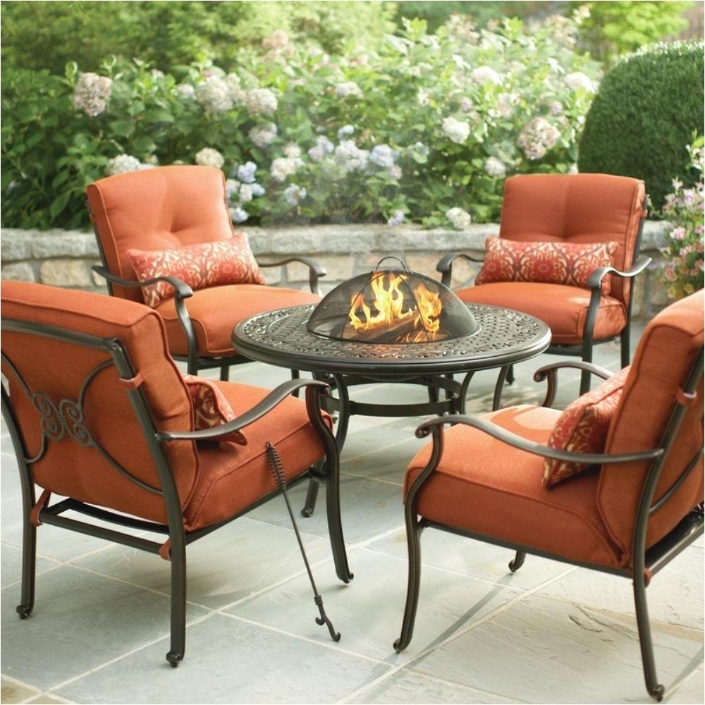 hampton bay patio furniture fire pit