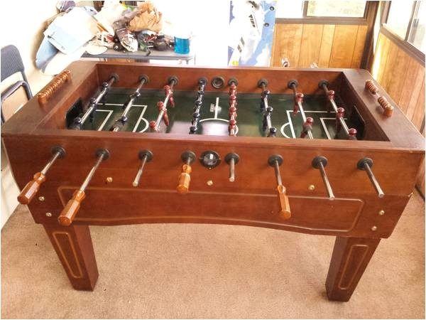 a 51 1507691 harvard foosball table solid made of walnut wood 200 englewood