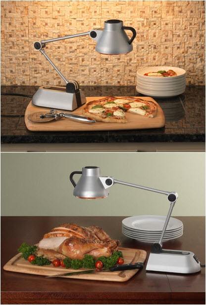 Heat Lamps are Designed to Reheat Food when Bon Home Culinary Heat Lamp Keeps Food Warm without Ruining It
