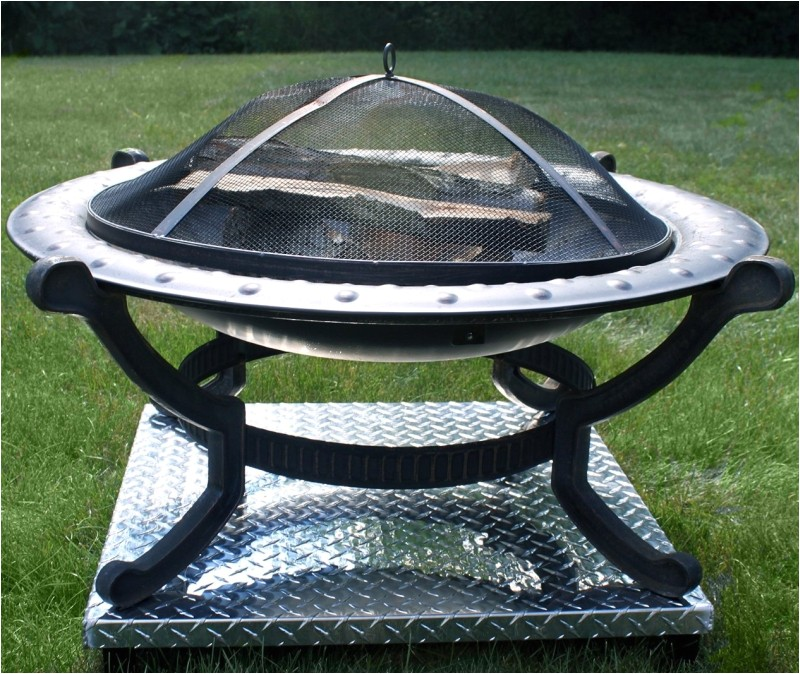 Heat Shield for Fire Pit On Deck Deck Defender and Grass Guard Fire Pit Heat Shield