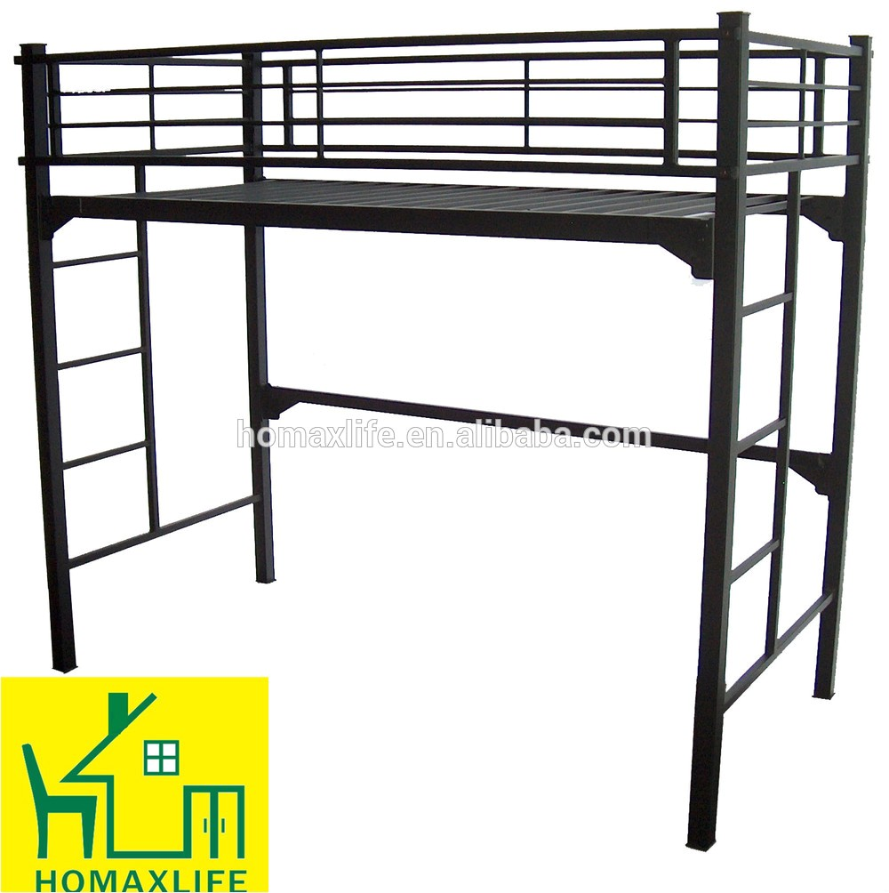 heavy duty metal bunk bed strong bunk bed for summer camp