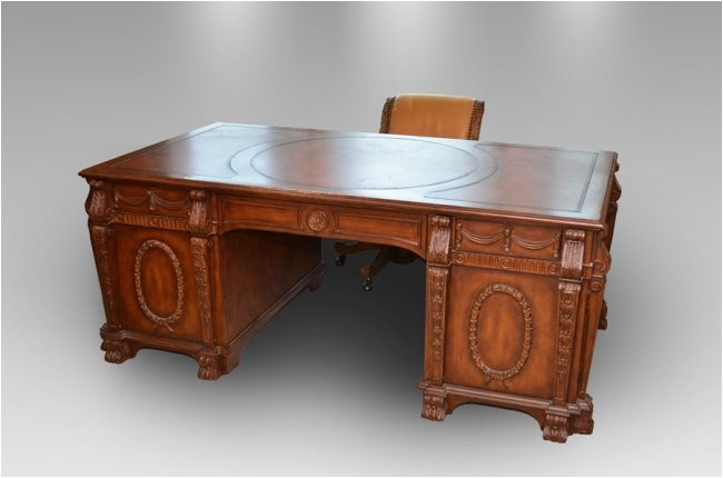 20203928 hooker seven seas partners desk with chair